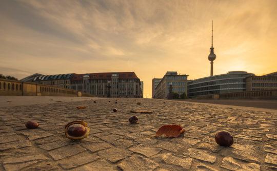 Berlin Herbst Skyline