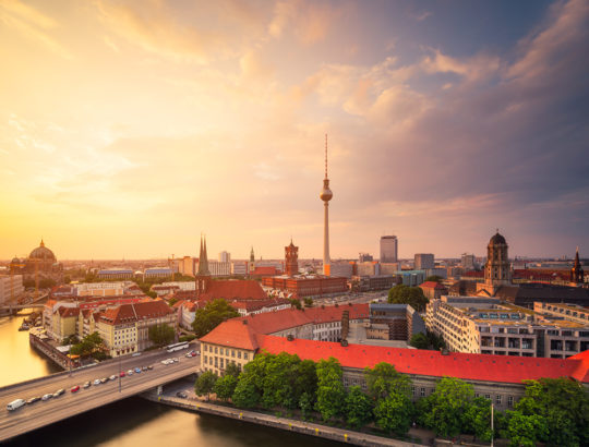 Berlin Summer Skyline