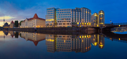 Berlin Spree Panorama