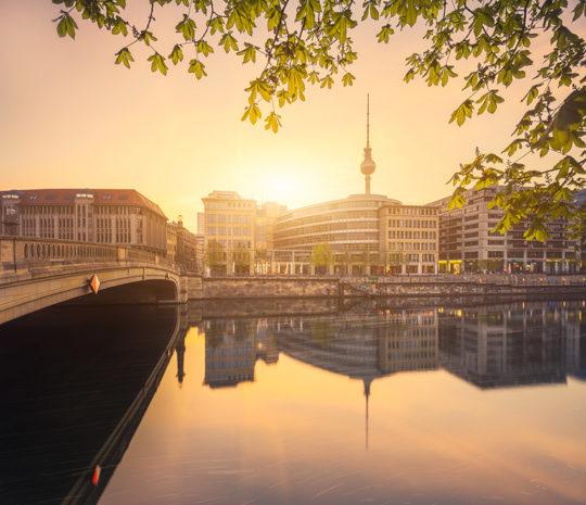 Berlin Spree Spiegel