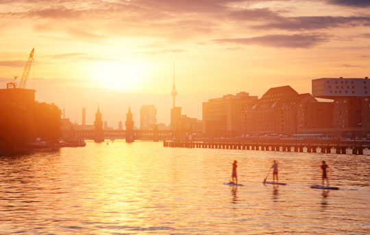 Berlin Surf Skyline