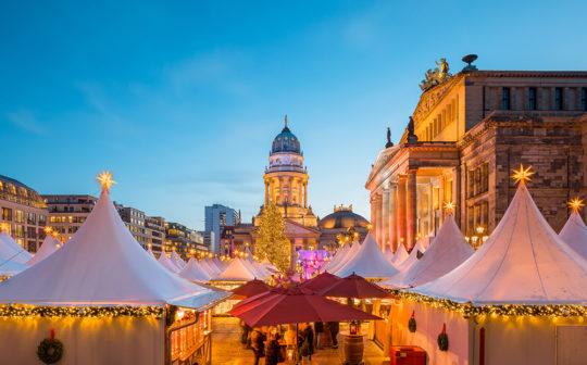 Berlin Gendarmenmarkt Weihnachtsmarkt