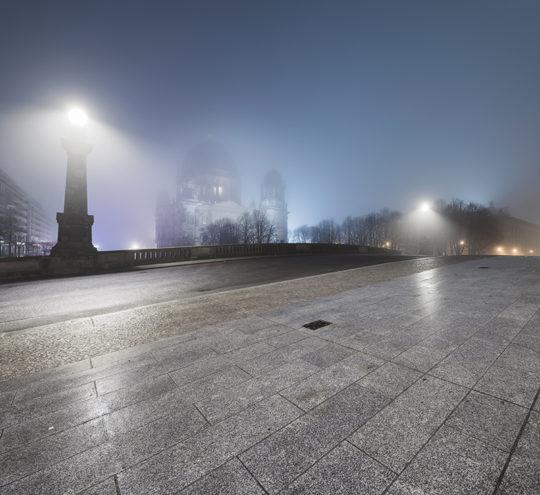Berliner Dom Nebel