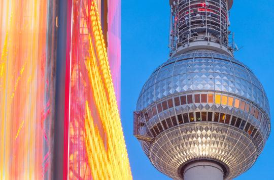 Berliner Fernsehturm Motion