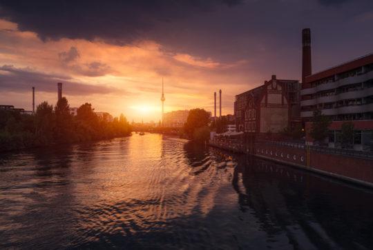 Berlin Sommer Skyline