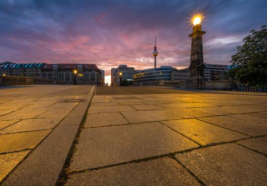 Berlin Sonnenaufgang